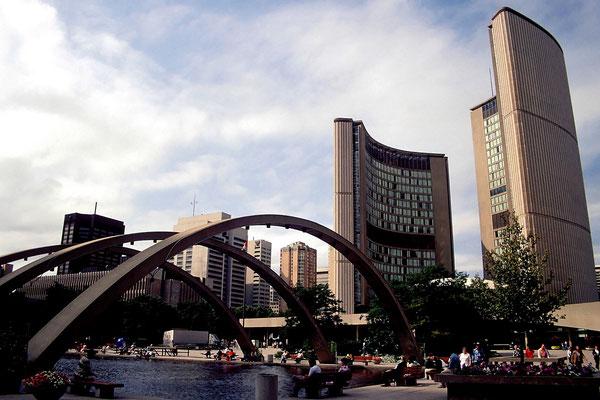 Die City Hall von Toronto