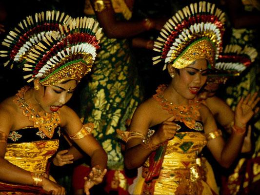 Rituelle und religiöse Tänze sind ein Kulturgut auf Bali