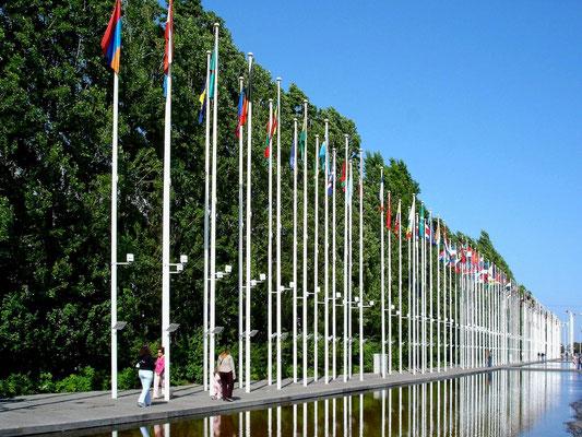 Das EXPO-Gelände von 1998 ist heute der Park der Nationen