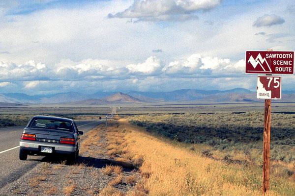 Sawtooth range, Idaho (1989)
