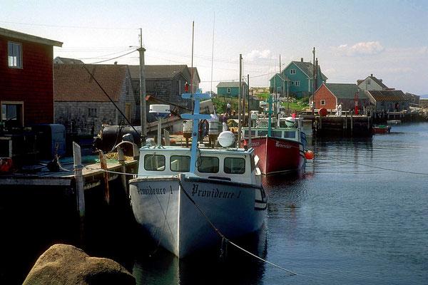 Hafen von Peggy's Cove