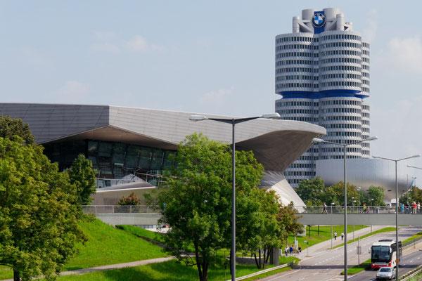 Die BMW Welt in München (Lumix G6)