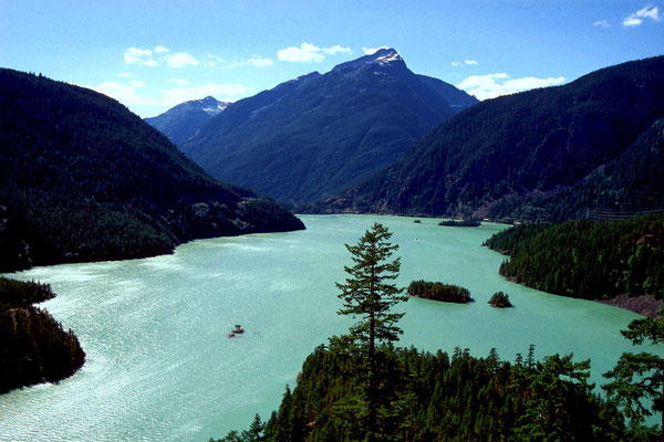 Diablo Lake, Cascade Mountains, Wa. (1995)
