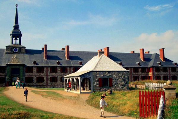 Die Wache im Fort Louisbourg