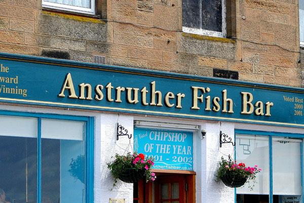 Die besten Fish&Chips weit und breit.