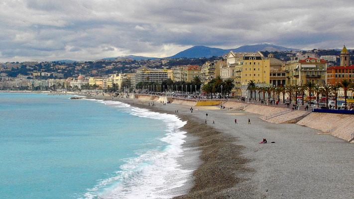 Nizza, die Metropole der Cote d'Azur