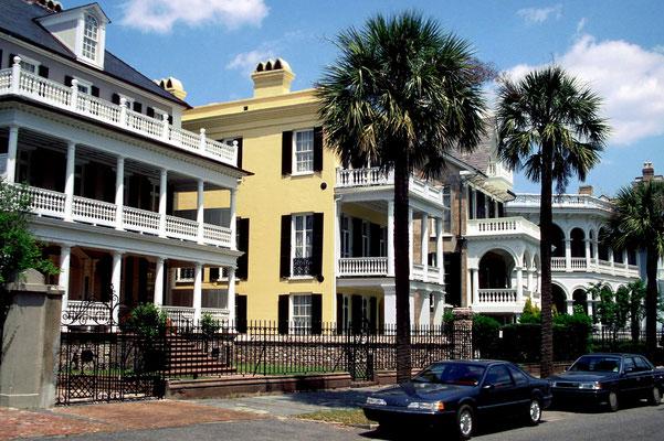 Charleston in South Carolina (Drehort für 'Vom Winde verweht')