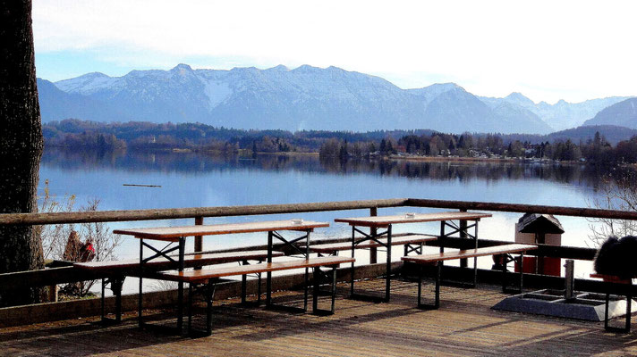 Biergarten am Staffelsee