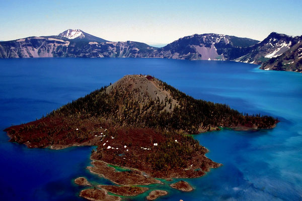 Crater Lake, Oregon - 'The Deepest Blue of America' (1995)