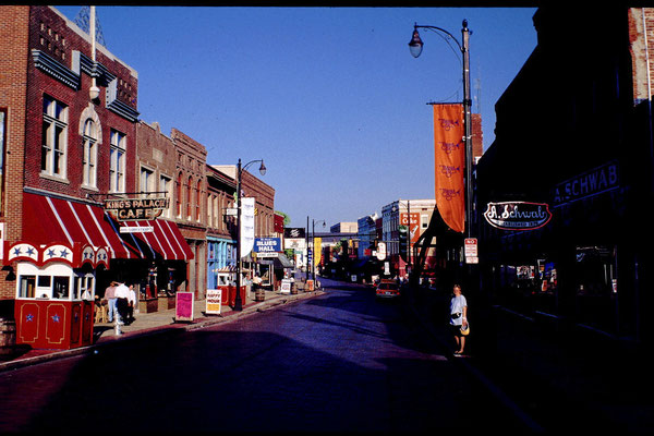 Beale Street (Home of the Blues) in Memphis, Tn.