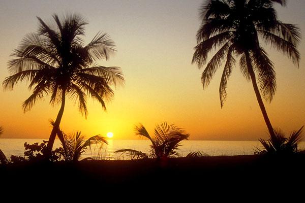Traumhafter Sonnenuntergang auf Sanibel Island, Florida