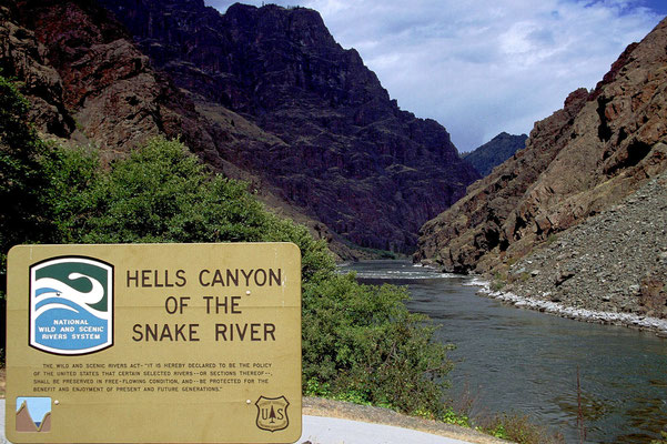 Hells Canyon of the Snake River, Idaho (1989)