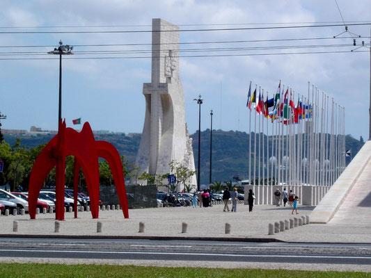 Das Seefahrer Denkmal am Tejo