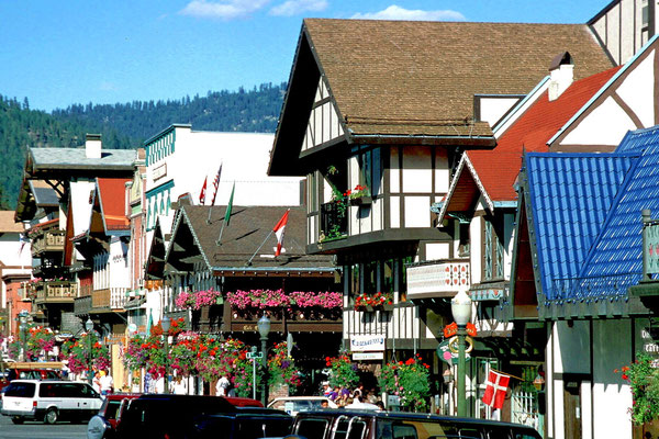 Leavenworth (The Bavarian City), Wa. (1995)