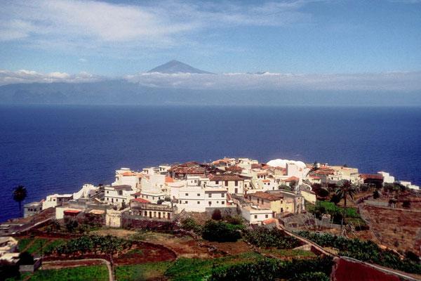 Der Pico de Teide von la Gomera aus gesehen