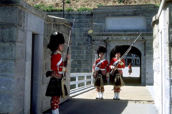 Wachwechsel auf der Zitadelle von Halifax