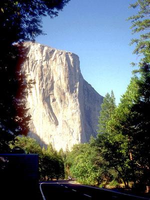 El Capitan im Yosemite NP, CA (1984)