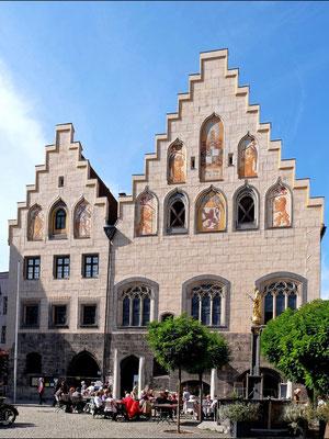 Das Rathaus von Wasserburg am Inn