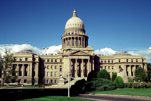 Capitol von Idaho in Boise, Idaho (1989)