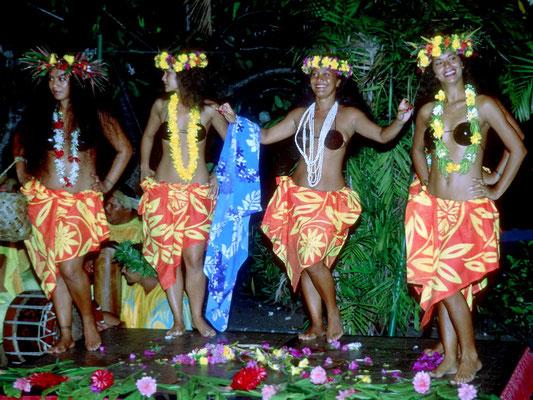 Die Lebenslust der Tahitianer drückt sich auch in den Tänzen aus.
