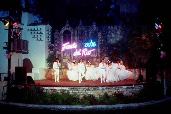 Fiesta Noche del Rio in San Antonio, Tx. 1987