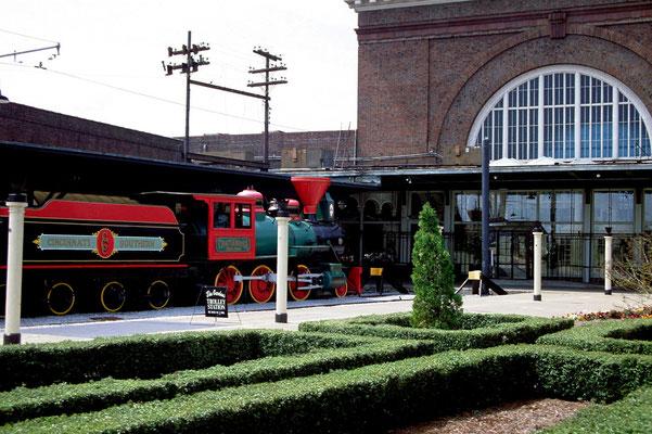 Der alte Bahnhof ist heute ein Hotel