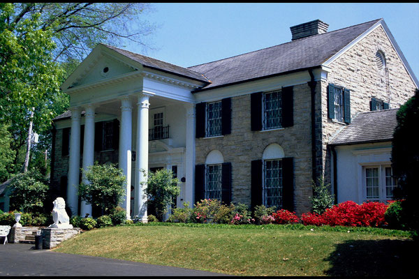Graceland (heute Elvis Museum) in Memphis, Tn.