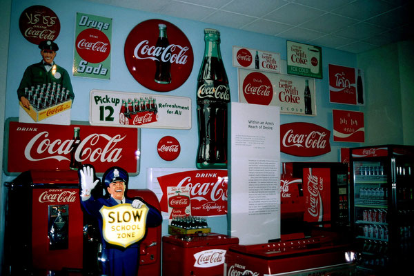 Im Coca Cola Museum in Atlanta