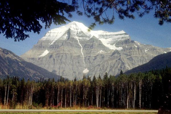 Mount Robson, der höchste Berg der kanadischen Rockies