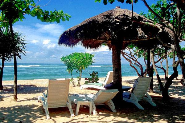 Tropische Vegetation und tolle Strände gibt es auf Bali