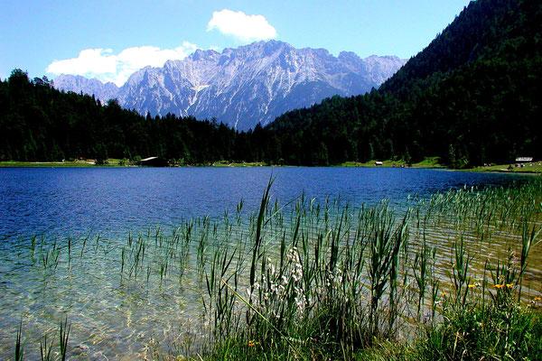 Der Ferchensee bei Mittenwald (Sony HX5V)