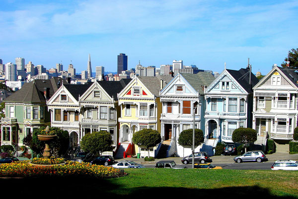 'The Painted Ladies' - San Francisco, USA (Sony H1)