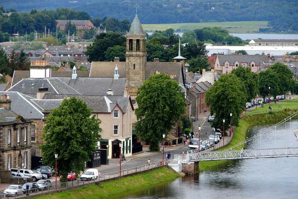 Inverness ist die Hauptstadt der Highlands