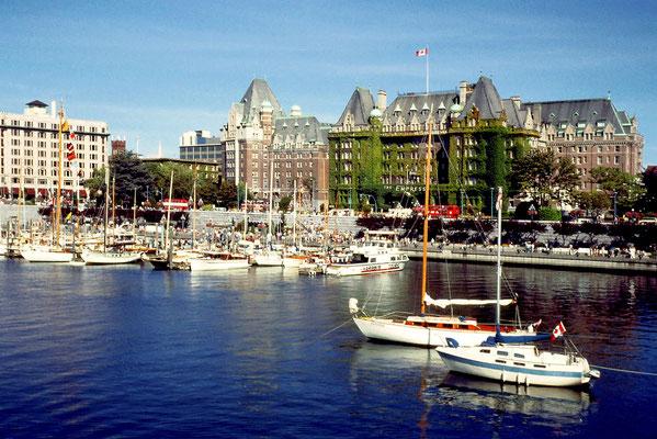 Victoria auf Vancouver Island ist die Hauptstadt von British Columbia