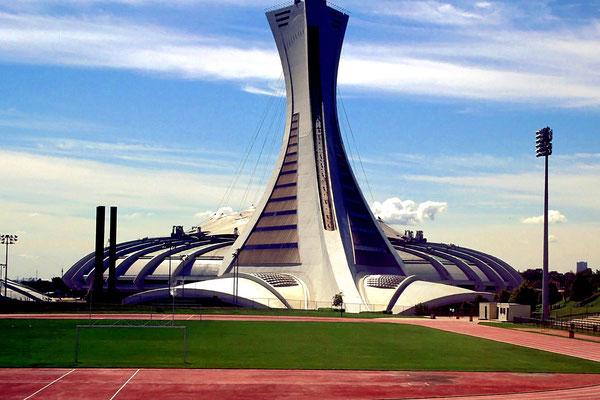 Das Olympiastadion von 1976