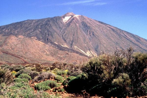 Der Vulkan Pico de Teide auf Teneriffa ist der höchste Berg Spaniens