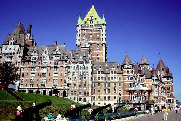 Das Chateau Frontenac ist heute ein Hotel