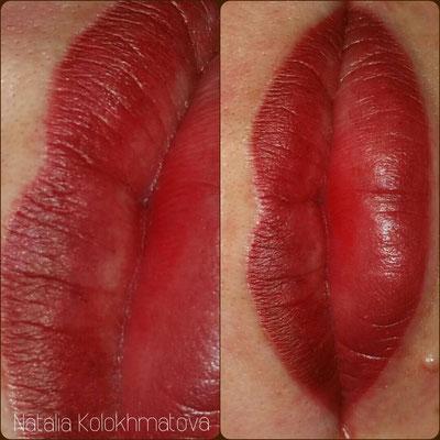 перманентный макияж губ екатеринбург
