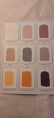 171. Kleurenkaart Amazona Krijtverf