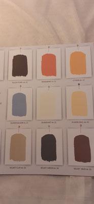 174. Kleurenkaart Amazona Krijtverf