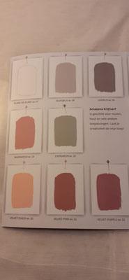 173. Kleurenkaart Amazona Krijtverf