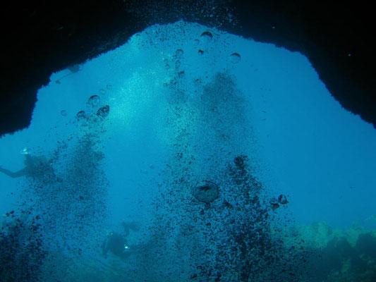 Ausblick aus dem Blue Hole