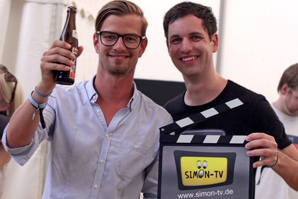 SIMON-TV mit Moderator Joko Winterscheidt (Fotografie Ralf Just)