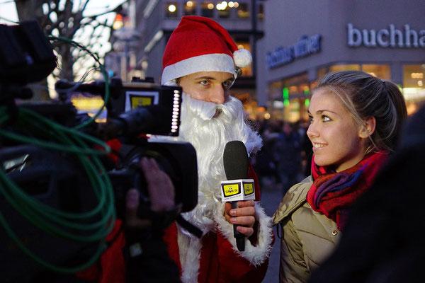 SIMON-TV Weihnachtsmann-Dreh