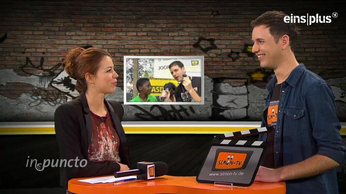 """SIMON-TV zu Gast in der Sendung """"in.puncto"""""""