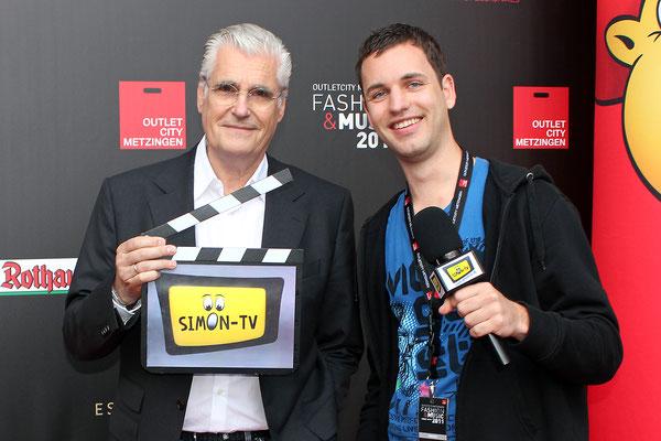 SIMON-TV Interview mit Schauspieler Sky du Mont