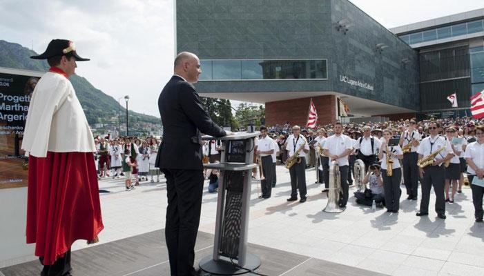 2016 Festa federale dei cori in costume Lugano