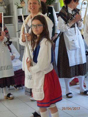 2017 Greina - primo servizio con flauto per Marta