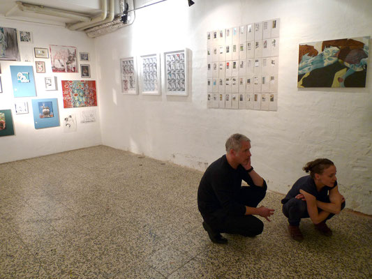 Eröffnung der EX+- Ausstellung in der Theatergalerie (07.10.12)