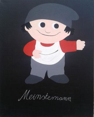 """""""Meinstemann"""" ( 120x150cm, Acryl, 2015 )"""
